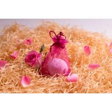 Šumivé koule do vany Be2la® (50 g) - růže